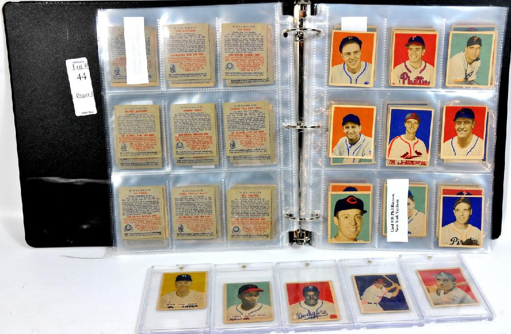 1949 Bowman Complete Set