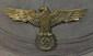 Nazi German Pith Helmet with eagle and Swastika Insignia