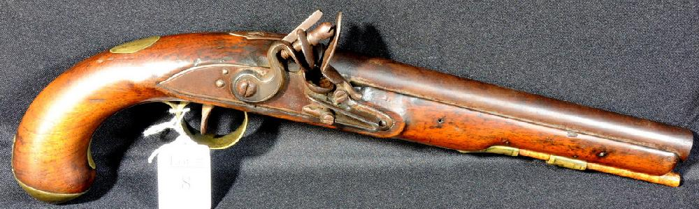 Ketland and Company Flintlock Pistol circa 1805-1812