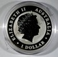 2013 AUSTRALIAN ONE DOLLAR KOALA, ONE OUNCE .999 SILVER BEAUTIFUL COIN