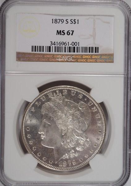 1879S Morgan $ NGC67 est $650-$700