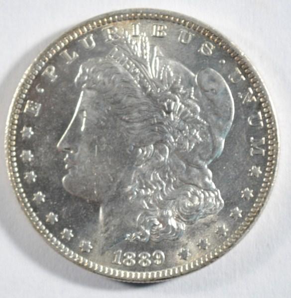 1889-O MORGAN DOLLAR CHOICE BU++