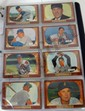 1955 BOWMAN BASEBALL SET WITH 12 PSA GRADED