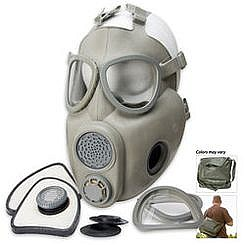 Military Surplus M10M Gas Mask with Filters