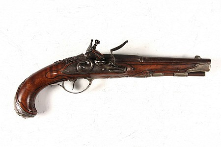 Gentleman's 18th C Gunsmith Made Flintlock Pistol