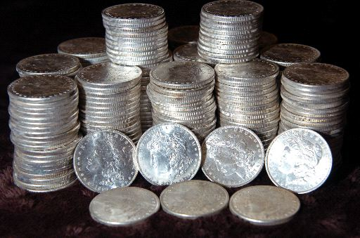 Lot of (200) TWO HUNDRED BU Morgan Dollars