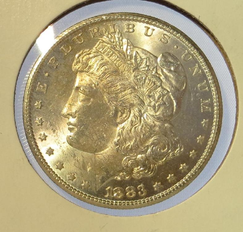 Key Date CH BU 1883 Carson City Morgan Dollar
