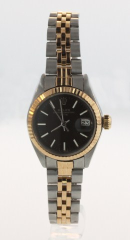 Ladies 2 Tone Rose Gold Rolex $6.5K App.