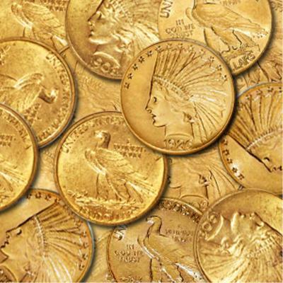 A Random Date $ 10 Indian Head Coin