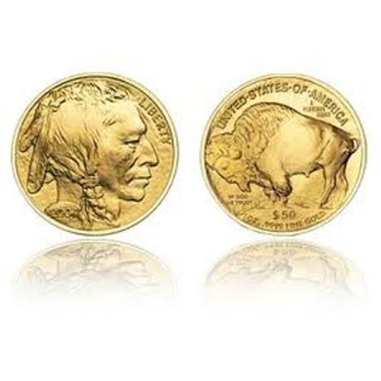 1 oz Us Gold Buffalo Bullion 24K .9999