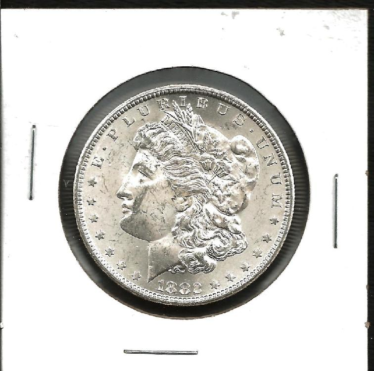1882 Key Date Carson City Morgan BLAST White