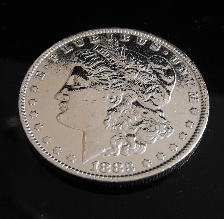 RA- 1883 -O Morgan Silver Dollar