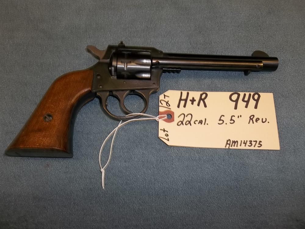"""H&R 949 22 Cal. 5.5"""" Rev. AM14375 (12T)"""