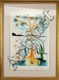 DALÍ SIGNED LITHO MAD TEA PARTY FROM ALICE SERIES