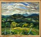 NORA F COLLYER ORIGINAL OIL ON BOARD PAINTING