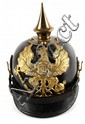 WWI GERMAN PICKELHAUBE SPIKED HELMET COMPLETE