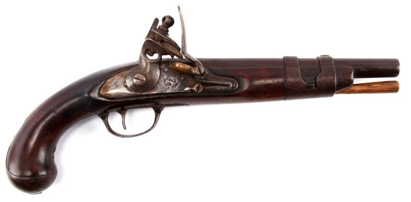 US MODEL 1816 FLINTLOCK PISTOL SIMEON NORTH