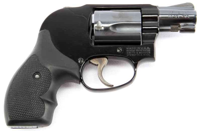 SMITH & WESSON MODEL 38 AIRWEIGHT BODYGUARD
