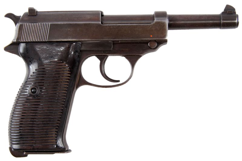 WWI GERMAN WALTHER P-38 AC 41 CODED MATCHING