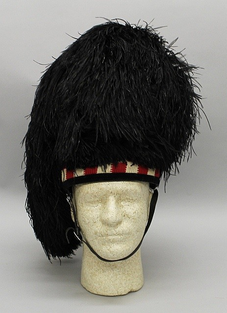 Argylle & Sutherland Highlanders Feather Bonnet