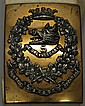 Sword Belt and Cross Belt Plate - Canadian Military
