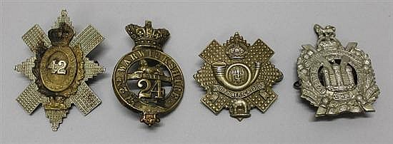 Grouping of British Empire Military Insignia