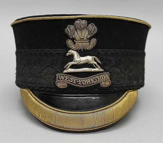 Cased British Military Headgear