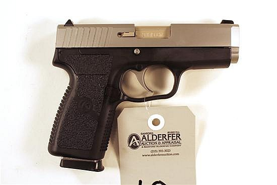 "Kahr Arms CW9 semi-automatic pistol. Cal. 9 mm. 3-1/2"" bbl. SN EG9220. Stainless steel slide, polymer frame, excellent bore, 1 magaz..."