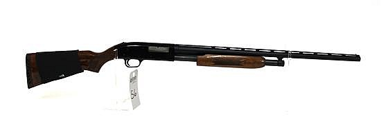 "Mossberg Model 500CG pump action shotgun. 20 ga. 26"" vent rib bbl. 2-3/4"" to 3"" chamber. Improved cylinder. SN J294244. Matte finish..."