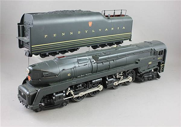 LIONEL MODERN ERA, 2 PIECES 28063 T-1 DUPLEX LOCOMOTIVE AND TENDER #551 COMMAND, CONTROL