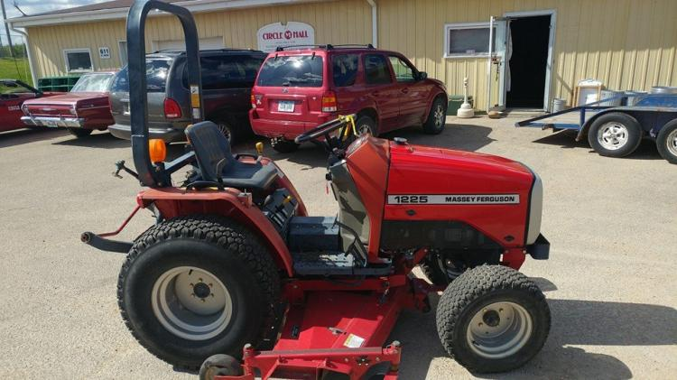 Mini Wheel Horse Tractor : Massey ferguson diesel compact tractor other