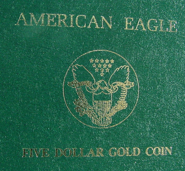 1989 American Eagle $5 Gold Coin