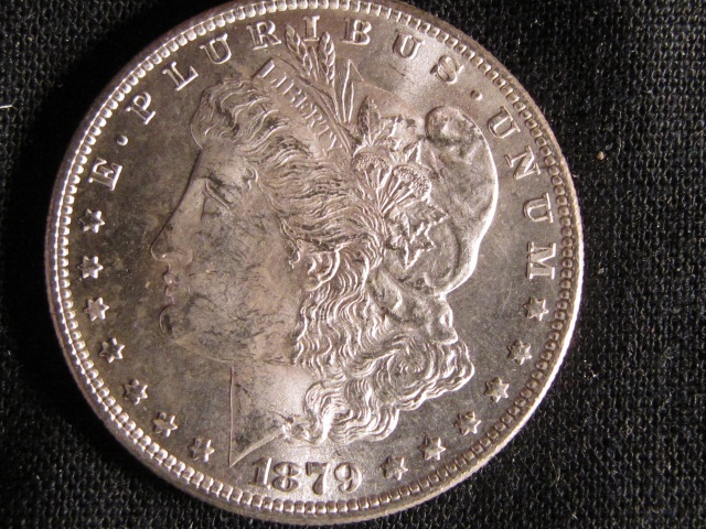 1879-S Morgan Silver Dollar - UNC