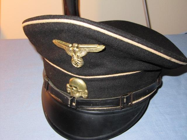 German WWII Allgemeine SS Visor Cap
