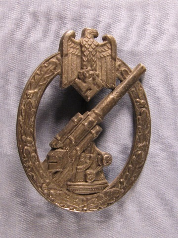 German WWII Army Anti-Aircraft Badge