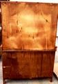 L413 VINTAGE SOLID AMERICAN PINE BAKERS / HOOSIER LARGE CABINET