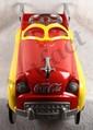 L4 GEARBOX PEDAL CAR CO 2000 PRESSED STEEL 1952 SLOGAN COCA-COLA DELIVERY WAGON