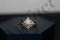 16K YELLOW WITH GREAT WHITE GOLD CROWN - 1.8 DWT