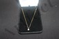 14K NECKLACE 4 DIAMONDS APPROXIMATELY 50 PT - 2.6 DWT