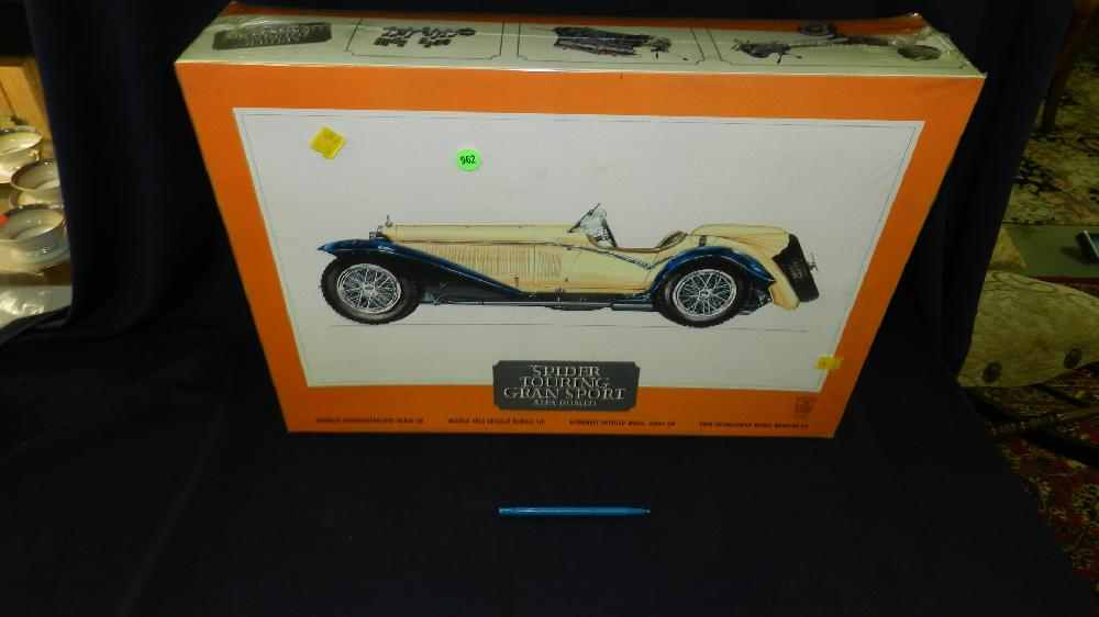 large model in box 1/8 scale