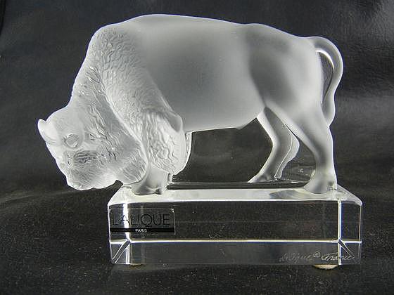 Lalique Bison