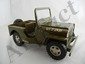 2- Tonka Military Jeeps, 1 w/ top and 1 w/o top