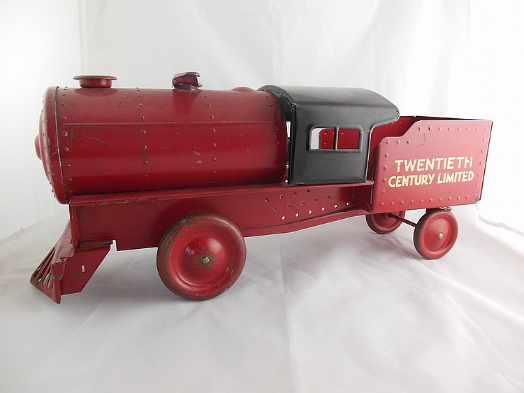 "Steelcraft ""Twentieth Century Limited"" Sit-n-ride Locomotive"