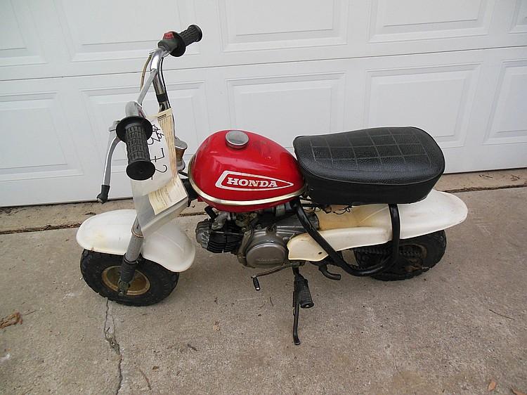 Honda 50 Dirt Bike