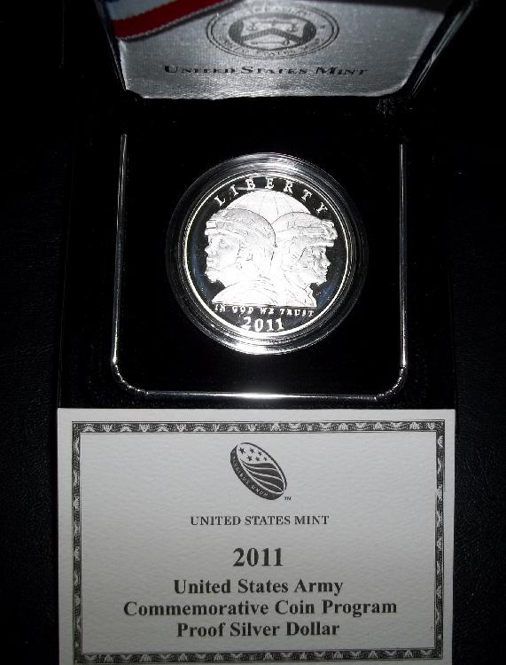 2011 US ARMY COIN