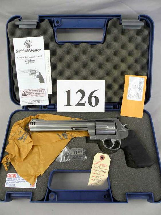 Smith And Wesson 460 460 Cal.