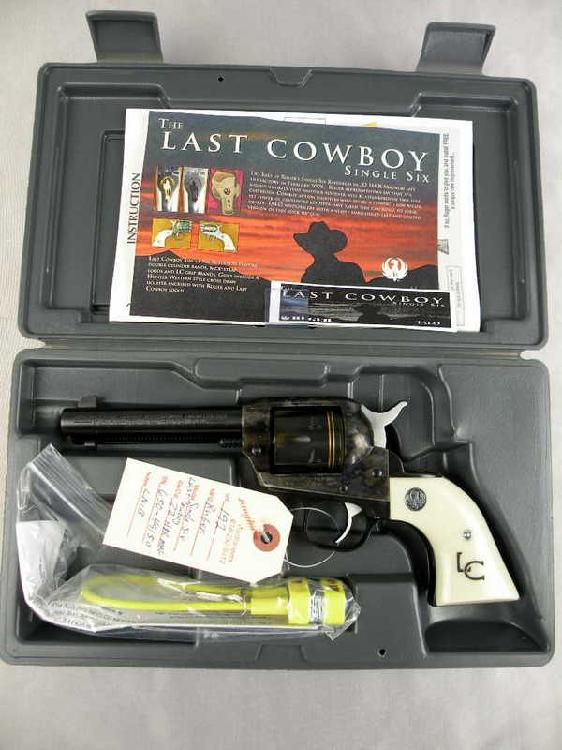 Ruger Single Six Last Cowboy 32 HMR Mag.