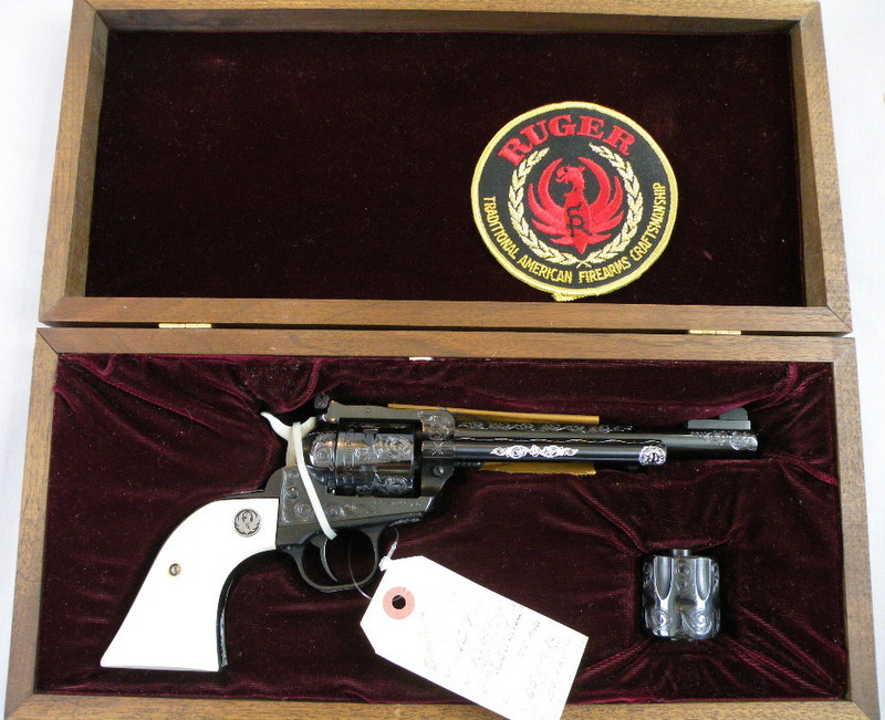 Ruger New Model Super Single Six Convertible Type 18 22RF/22Mag