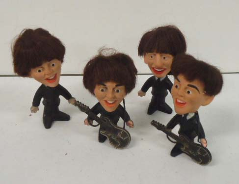1964 Set of Beatles Dolls