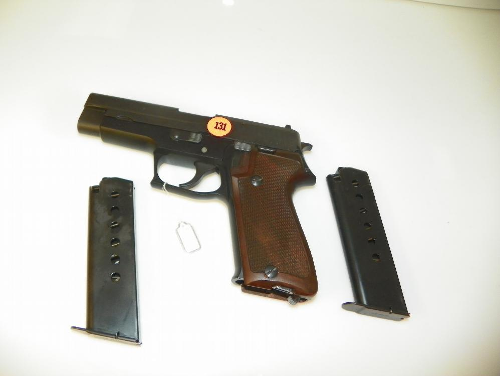 SIG SAUCER 45 MODEL P220 WITH 2 CLIPS